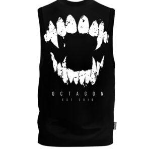 Gilet Octagon Teeth black