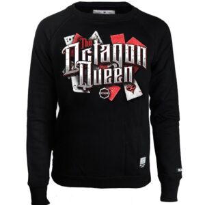 Womens Sweatshirt Octagon Queen