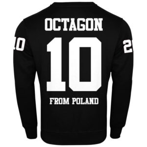 "Sweatshirt Octagon ""10"" black"