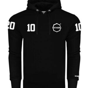 """Sweatshirt Octagon """"10"""" black Hoodie"""