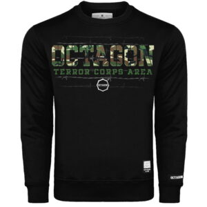 Sweatshirt Octagon Terror Corps Black