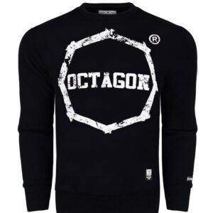 Sweatshirt Octagon Logo Smash Large Black