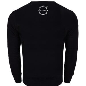 Sweatshirt Octagon Logo Smash black