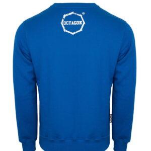 Sweatshirt Octagon Logo Smash blue
