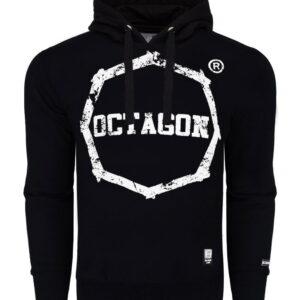 Sweatshirt Octagon Logo Smash black Hoodie