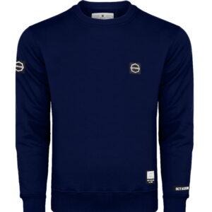 Sweatshirt Octagon Small Logo dark navy