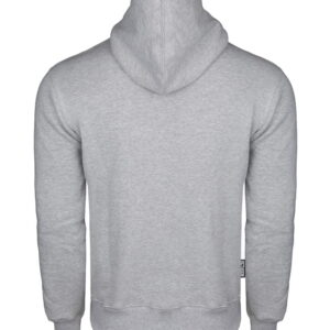 Sweatshirt Octagon Small Logo Grey Hoodie