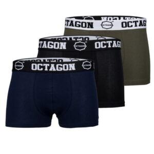 Boxers Octagon 3PACK MIX DBK