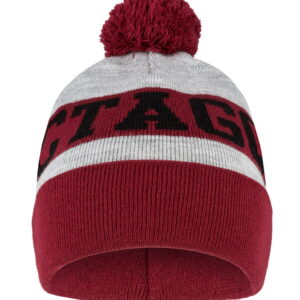 Winter Hat Octagon PUMP bordowa