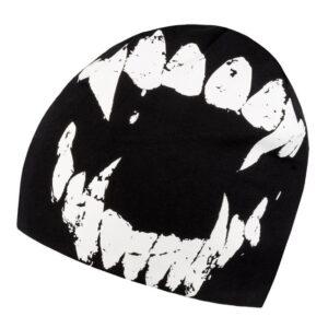 Winter Hat Octagon Teeth
