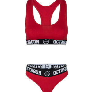 Womens Lingerie Octagon red