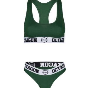Womens Lingerie Octagon Green