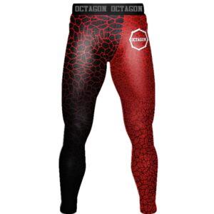 'Men''s Leggingse Octagon Super Serum Red'