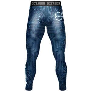 'Men''s Leggingse Octagon Mainboard blue'