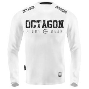'Men''s Long Sleeve Octagon Fight Wear white'