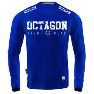 'Men''s Long Sleeve Octagon Fight Wear blue'