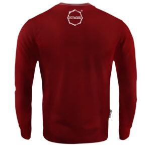 'Men''s Long Sleeve Octagon Logo Smash burgund'