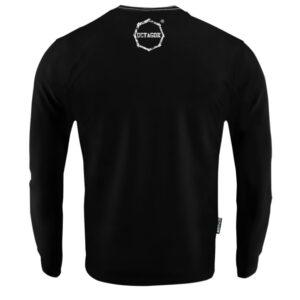 'Men''s Long Sleeve Octagon Logo Smash black'