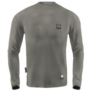 'Men''s Long Sleeve Octagon Small Logo khaki'