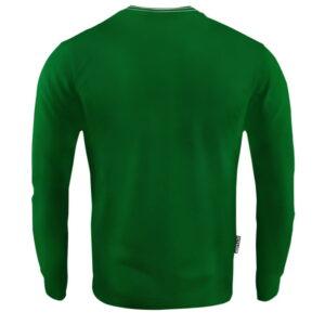 'Men''s Long Sleeve Octagon Small Logo Green'