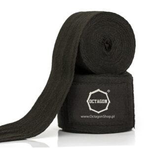 Owijki/Bandaże bokserskie Octagon 3m BLACK