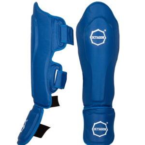 Profesjonalne ochraniacze Octagon KEVLAR Piszczel/Stopa blue