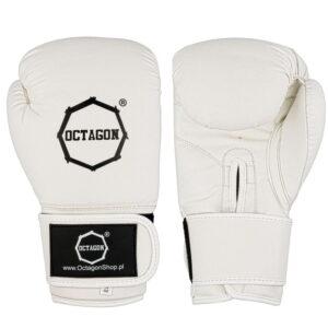 Boxing Gloves Octagon KEVLAR white