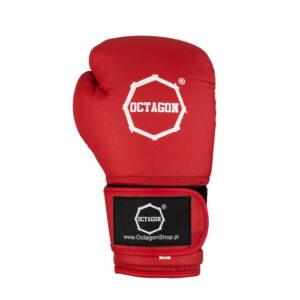 Boxing Gloves Octagon KEVLAR red