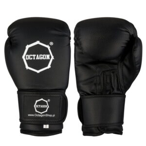 Boxing Gloves Octagon KEVLAR black