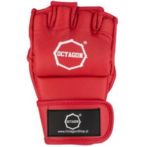 MMA Gloves Octagon KEVLAR red