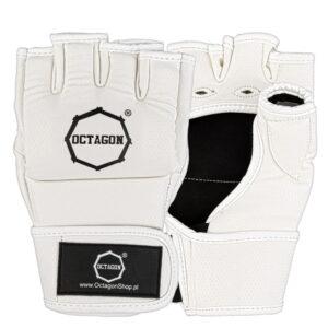MMA Gloves Octagon KEVLAR white
