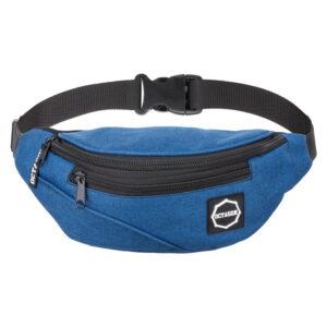 Hip Bag Octagon Logo Guma BLUE