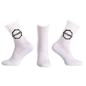 Socks Octagon White logo