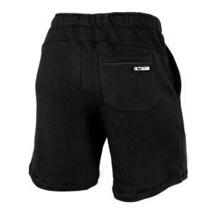 Cotton Shorts Octagon Logo Guma black