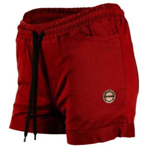 Womens Shorts Octagon Regular Burgund
