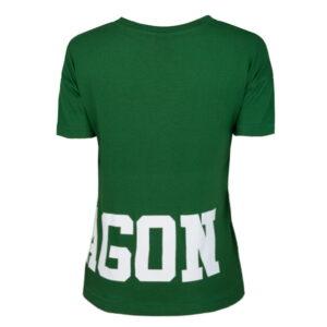 'Woman''s T-Shirt Octagon Dream Green'