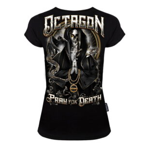 'Woman''s T-Shirt Octagon Pray for Death'