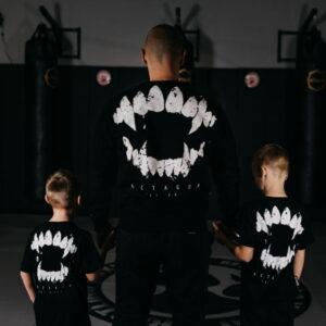 Kids T-shirt Octagon Teeth Black