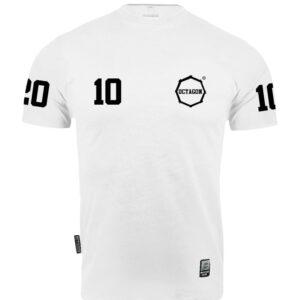 "T-shirt Octagon ""10"" white"