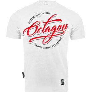 T-shirt Octagon Elite white