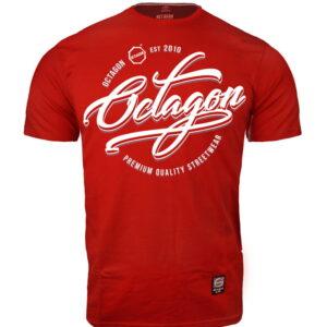 T-shirt Octagon Elite red