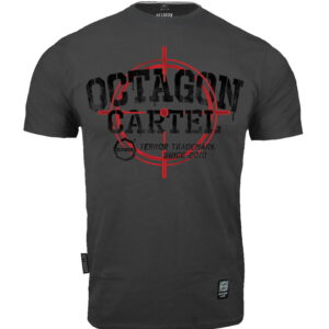 T-shirt Octagon Cartel graphite