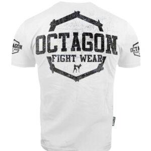 T-shirt Octagon Fight Wear II white