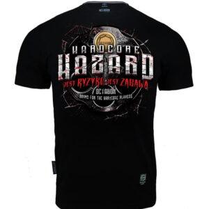 T-shirt Octagon Hardcore Hazard Jest Ryzyko Jest Zabawa