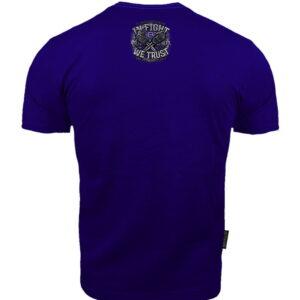 T-shirt Octagon In Fight We Trust dark navy