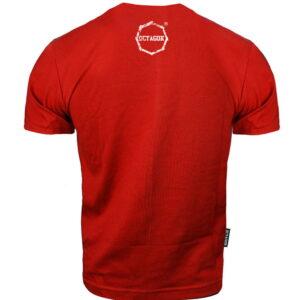 T-shirt Octagon Logo Smash Large Red