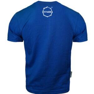 T-shirt Octagon Logo Smash blue