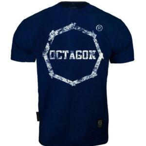 T-shirt Octagon Logo Smash dark navy
