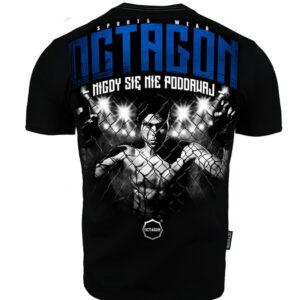 T-shirt Octagon Nigdy się nie poddawaj