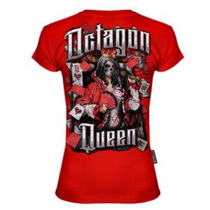 T-shirt Octagon Queen red